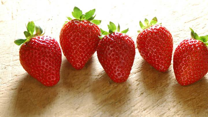 Yumy Fresh Strawberries